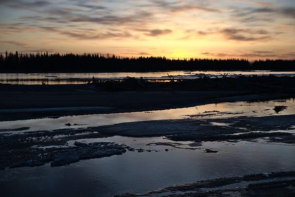 Tanana River Sunset