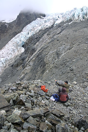 Lunch at the Icefall