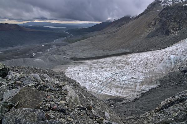Piedmont-like Glacier and Phelan Creek