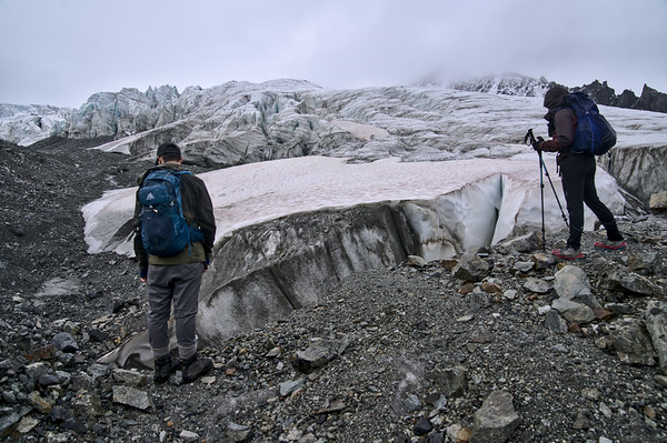Overlooking the Gabriel Icefall
