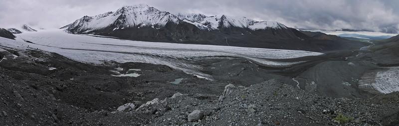 Gulkana Glacier Panorama