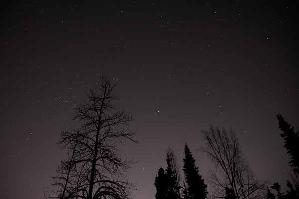 Night Sky and Planets