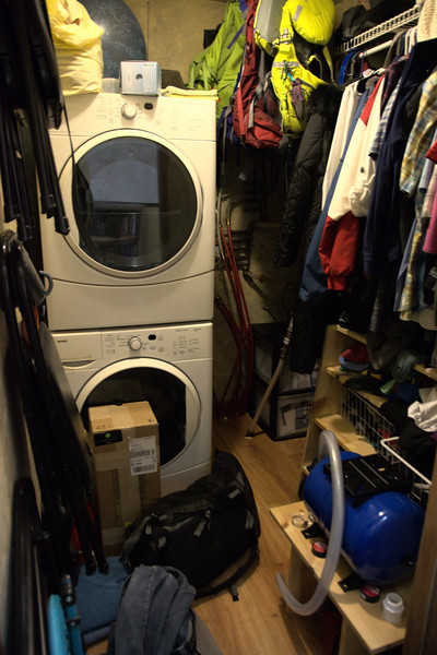 Changing Laundry Room