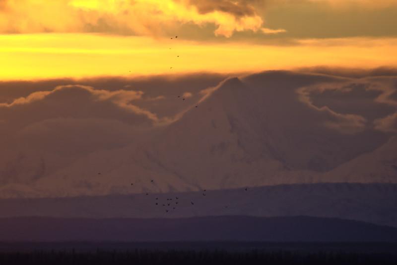 Sunrise over Hayes