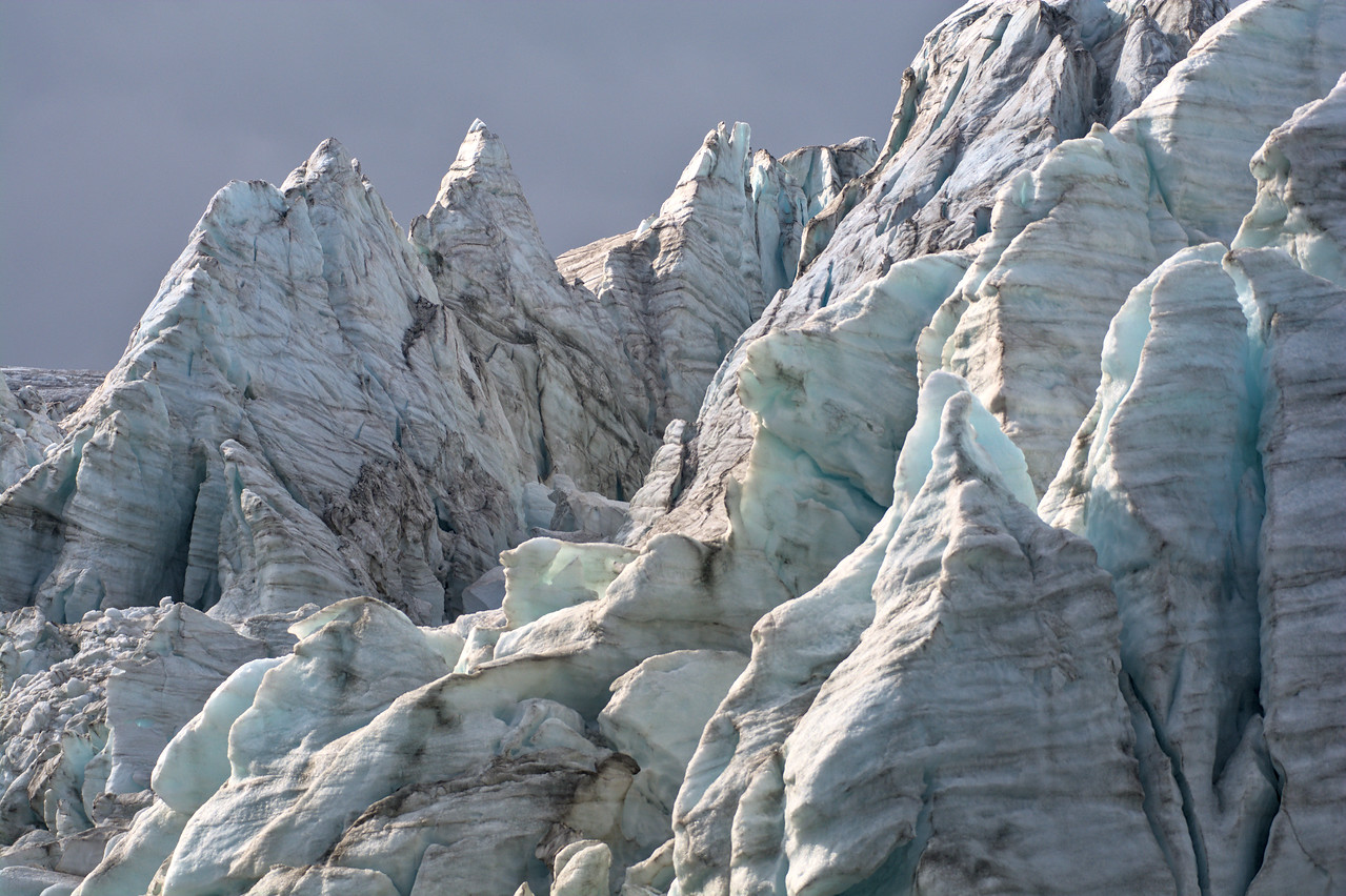 Ice towers on the Gabriel Icefall