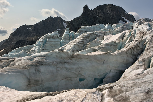 Over the Icefall
