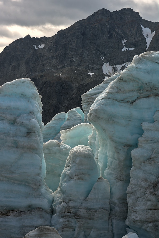 Ice towers and Ogive Mountain