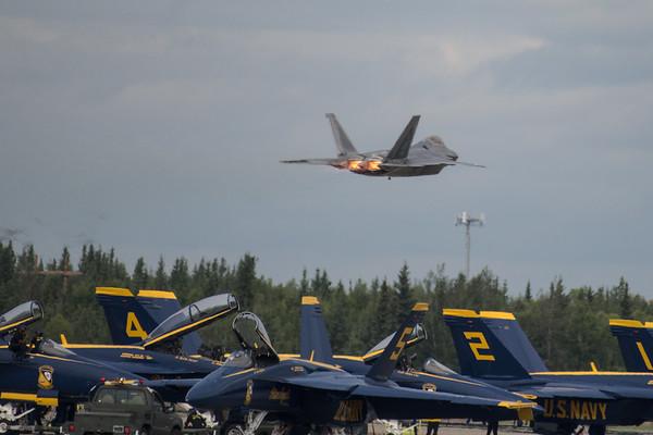 F-22 Takeoff