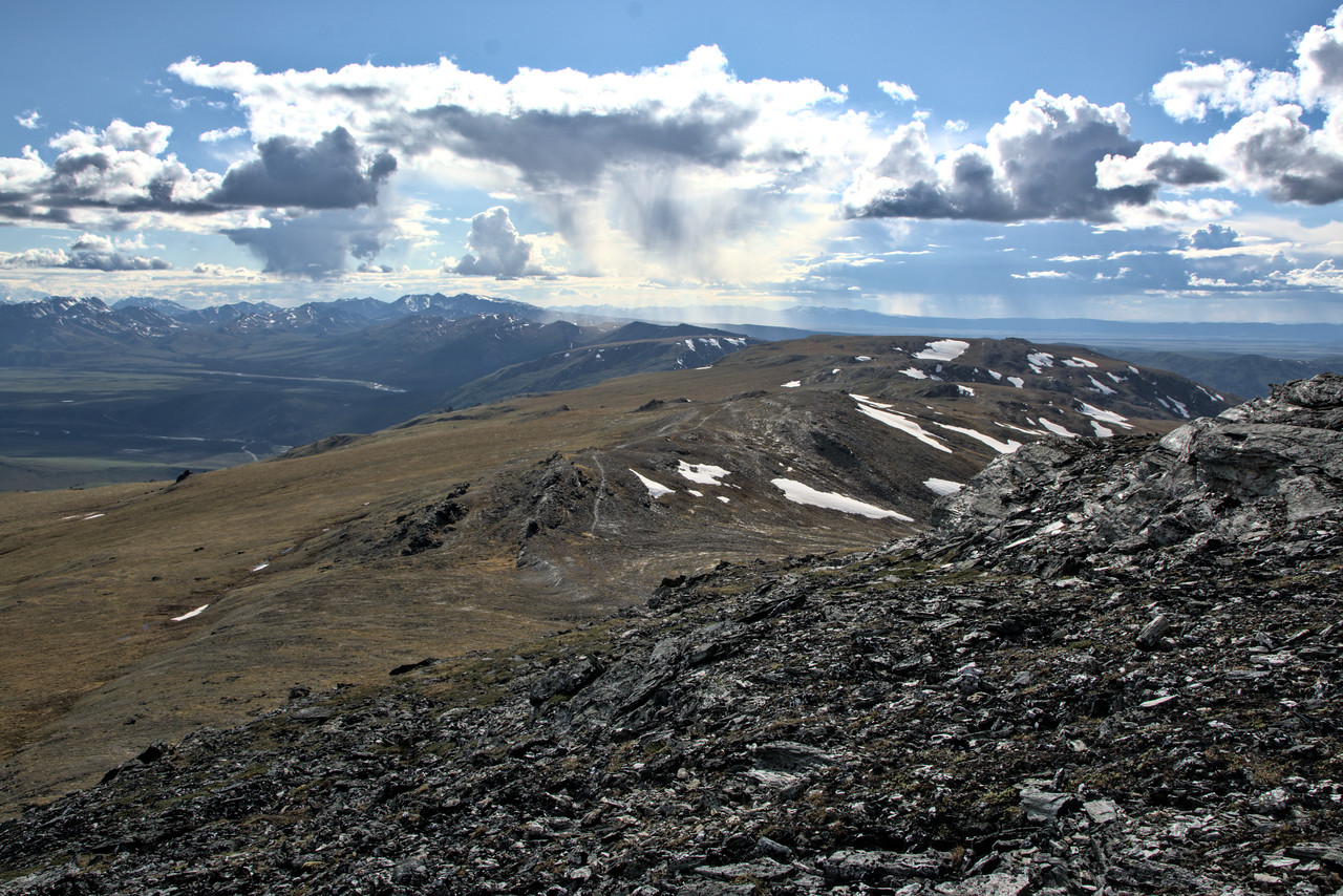 Looking over the east-west Primrose Ridge from Mt. Margaret. Next time I'll take more time to explore the ridge!