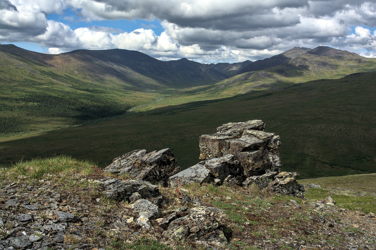 Gorgeous view on the climb up from the creek drainage