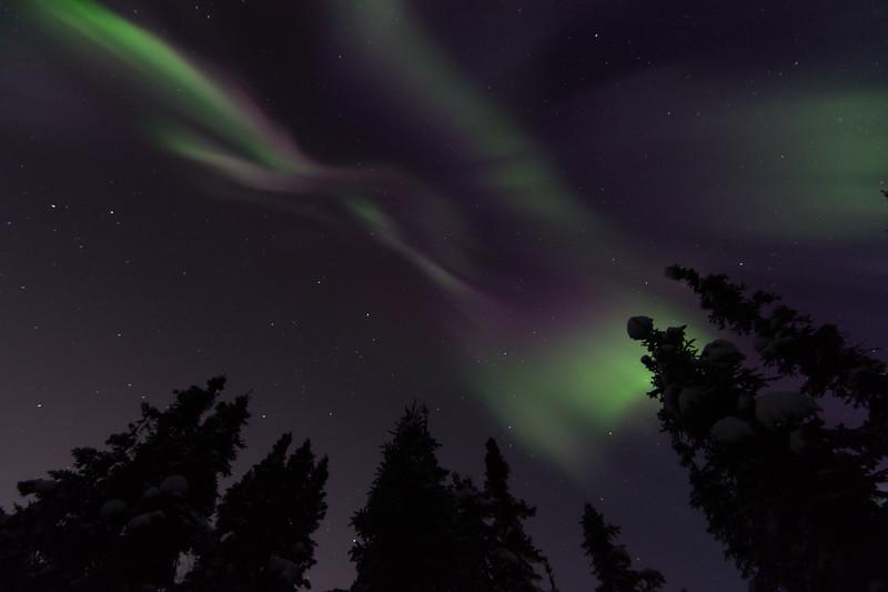 March 12, 2021 Aurora Borealis over Fairbanks, Alaska