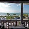 Outside table looking at Gulf of Mexico Thanksgiving 2009