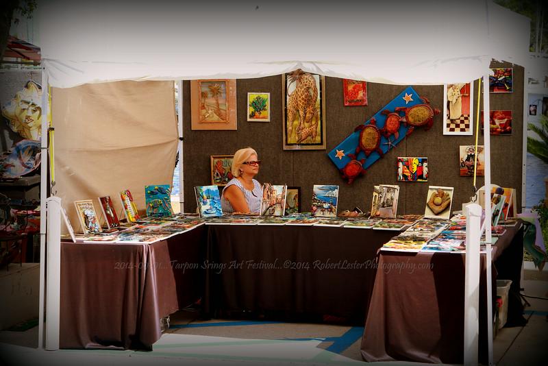 2014-09-01...Tarpon Srings Art Festival...©2014 RobertLesterPhotography.com