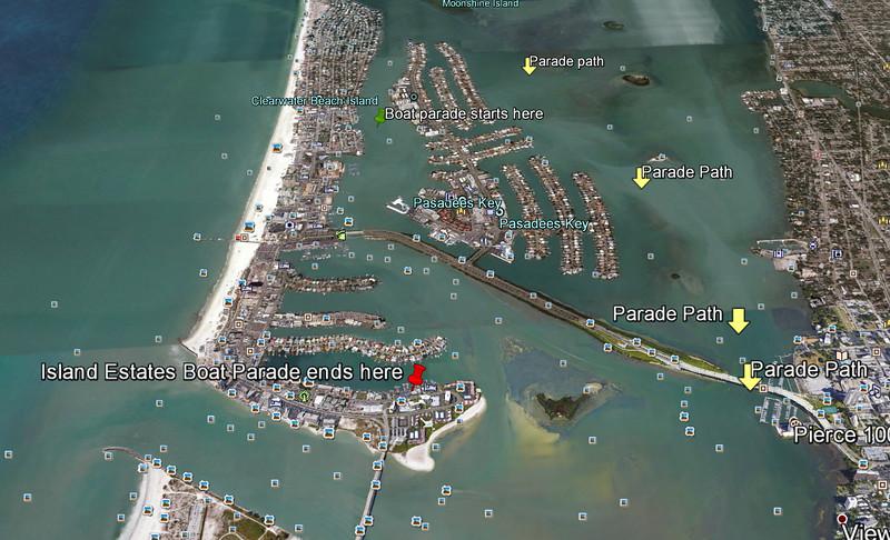 Island Esates Holiday Boat Parade 2015-12-12