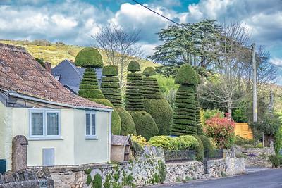 Topiary in Cross village