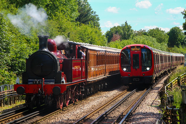 Steam meets S8 at Eastcote