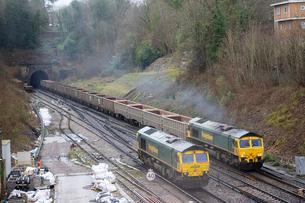 Freightliners meet at Haywards Heath