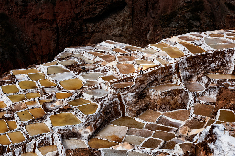 Salineras de Maras, Salt Mine Evaporation Ponds
