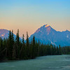 Sunrise in Jasper National Park