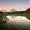 Reflections of mount Fryatt N4