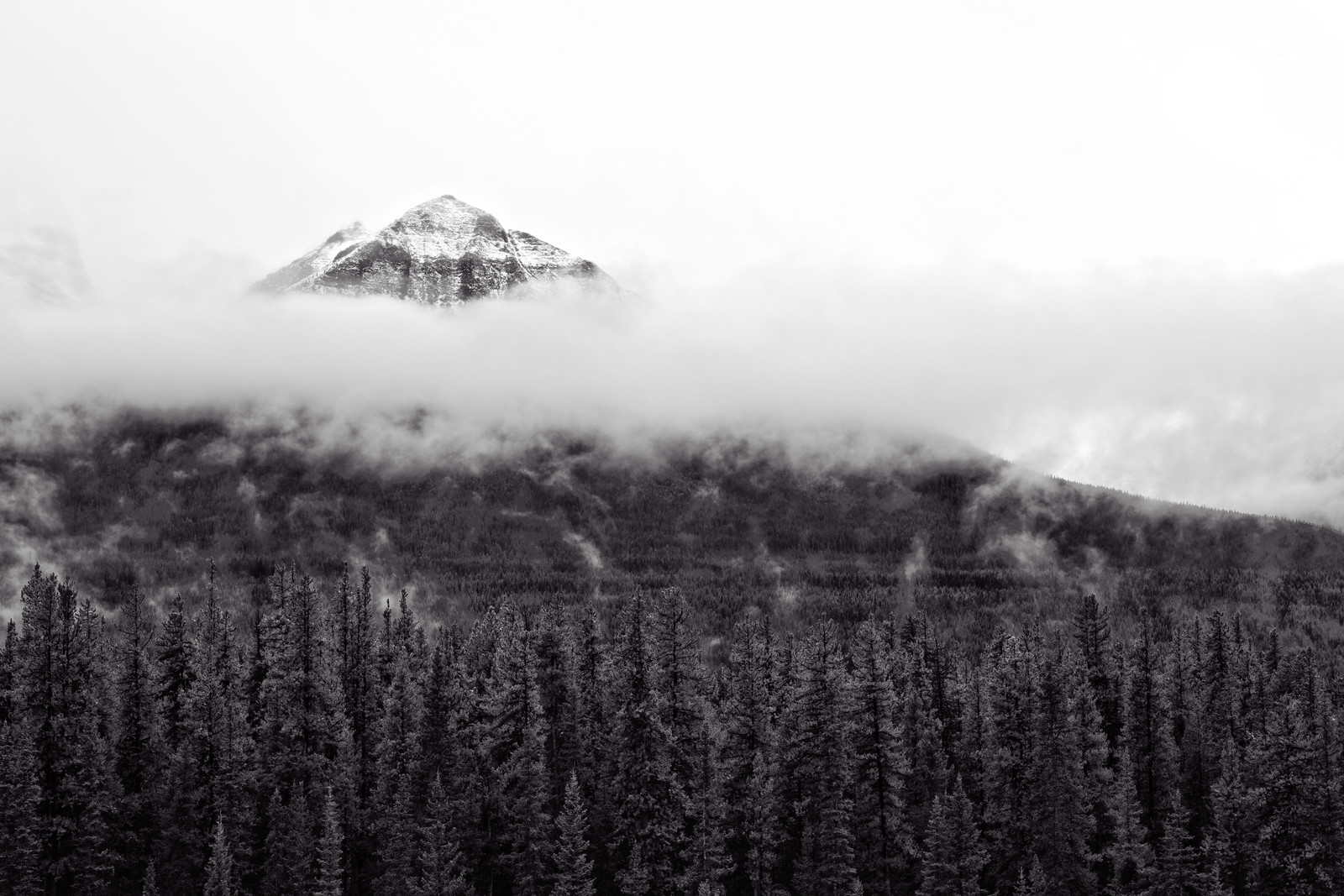 Mountain in the cClouds