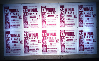 JAZZ POSTERS - ZAWINUL SYNDICATE