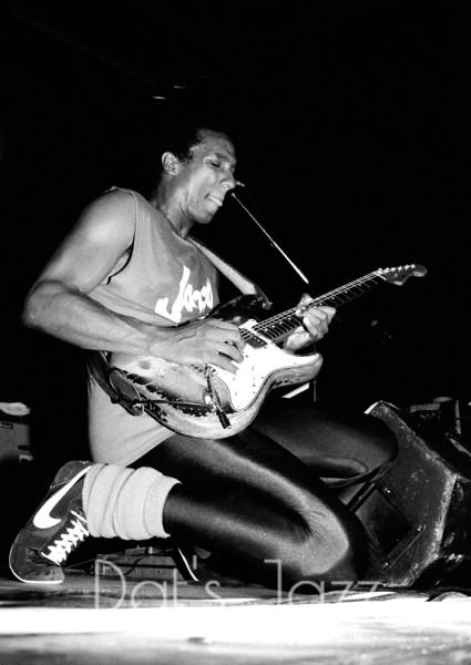 88/3806HIRAM BULLOCK8 July 1988North Sea Jazz FestivalDen Haag, NLDAVID SANBORN BAND©Derick A. Thomas/Dat's jazz Picture Library