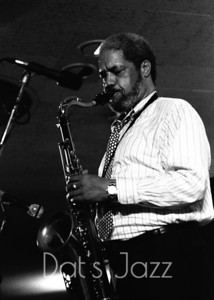88/3501 CLIFFORD JORDAN 8 July 1988 North Sea Jazz Festival Den Haag, NL  ©Derick A. Thomas/Dat's jazz Picture Library