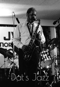 88/3537 CLIFFORD JORDAN 8 July 1988 North Sea Jazz Festival Den Haag, NL  ©Derick A. Thomas/Dat's jazz Picture Library