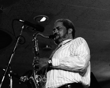 88/3539 CLIFFORD JORDAN 8 July 1988 North Sea Jazz Festival Den Haag, NL  ©Derick A. Thomas/Dat's jazz Picture Library