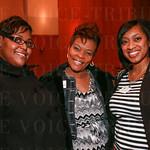 Courtney Morrow, Harvetta Ray and Ana Williams.
