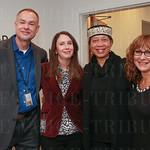 Marcel Parent, Erin Herbert, Ambassador Shabazz and Haleh Karimi.