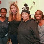 Gwen Cockrell, Becca Stevens, Sydney Jordan and Anika Rogers of Thistle Farms.