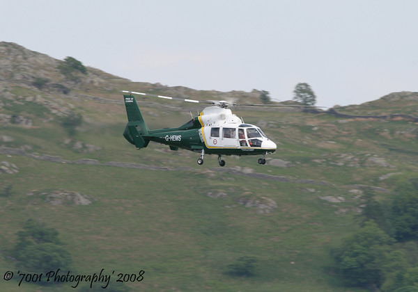 G-HEMS Dauphin - 29th May 2008.