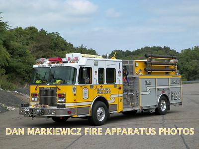 HALIFAX FIRE CO. ENGINE 29-1 2003 SPARTAN/SWAB PUMPER RESCUE