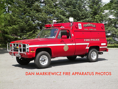 FISHERVILLE FIRE CO. UTILITY 216 1986 CHEVY/SWAB TRAFFIC UNIT