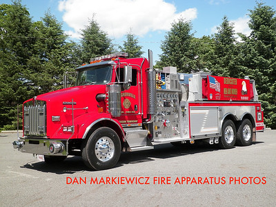 FISHERVILLE FIRE CO. TANKER 216 2005 KENWORTH/SWAB TANKER