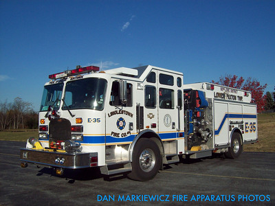 LINGLESTOWN FIRE CO. ENGINE 35 2000 KME PUMPER