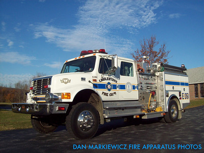 LINGLESTOWN FIRE CO. ENGINE 351 2001 INTERNATIONAL/KME PUMPER