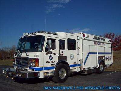 LINGLESTOWN FIRE CO. RESCUE 35 2006 AMERICAN LA FRANCE HEAVY RESCUE