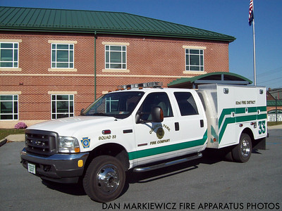COLONIAL PARK FIRE CO. SQUAD 33 2004 FORD/SWAB SQUAD