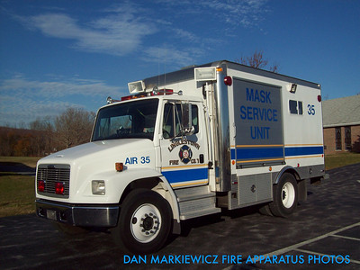 LINGLESTOWN FIRE CO, AIR 35 1998 FREIGHTLINER/MORGAN AIR UNIT