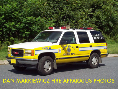LOWER SWATARA FIRE DEPT. CAR 59 1998 GMC PERSONNEL CARRIER
