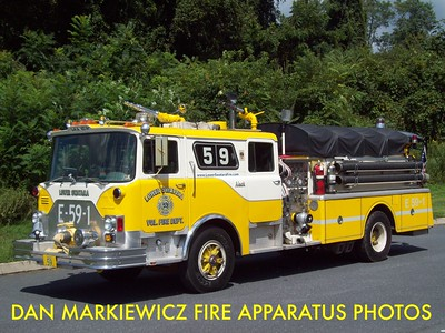 LOWER SWATARA FIRE DEPT. X-ENGINE 59-1 1978 MACK CF/SWAB PUMPER