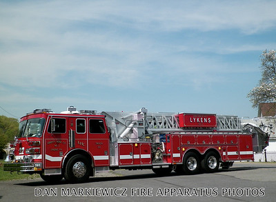 LIBERTY HOSE CO. TRUCK 22 1989/2014 SUTPHEN TOWER LADDER