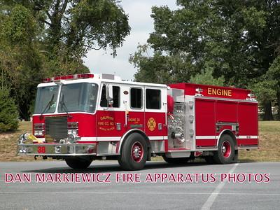 DAUPHIN MIDDLE PAXTON FIRE CO. ENGINE 38 2007 KME PUMPER