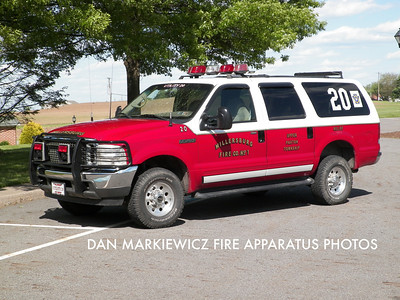 MILLERSBURG FIRE CO. UTILITY 20 2001 FORD PERSONNEL CARRIER