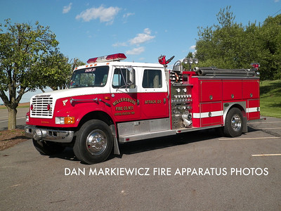 MILLERSBURG FIRE CO. ENGINE 20-1 1991 INTERNATIONAL/E-ONE PUMPER