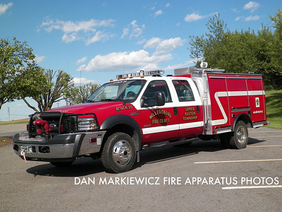 MILLERSBURG FIRE CO. ATTACK 20 2006 FORD/GUARDIAN MINI-PUMPER