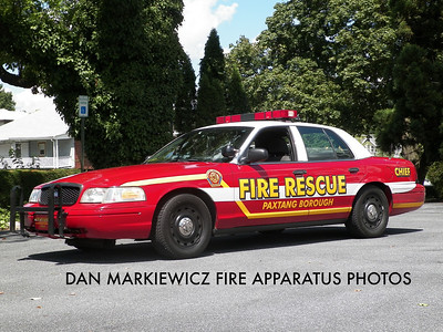 PAXTANG FIRE CO. CAR 40 2004 FORD CHIEF'S CAR